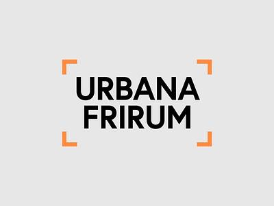 Urbana Frirum logo logo design logotype type typography design vector logo