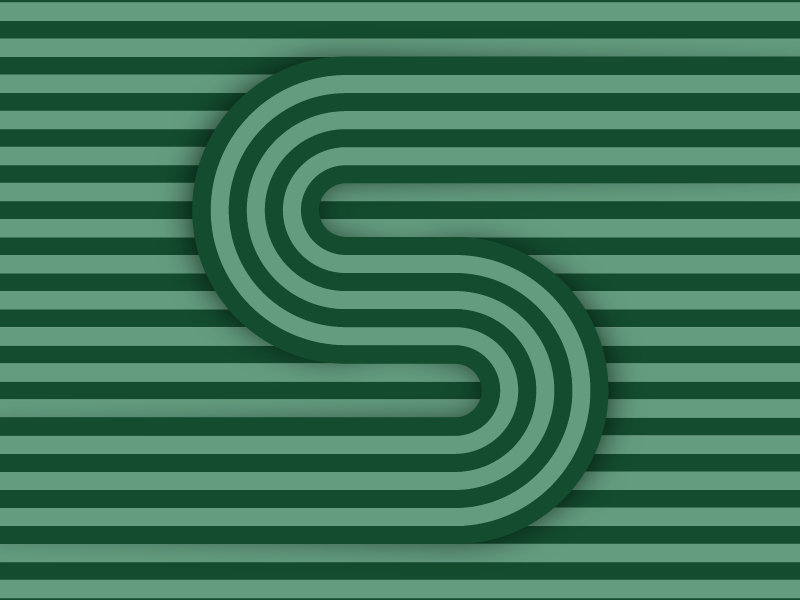 S – #36daysoftype design minimal type vector lettering typography