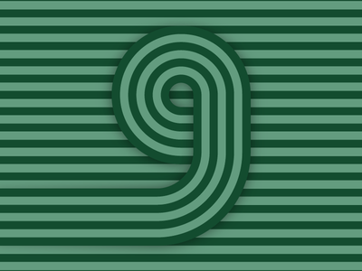 9 – #36daysoftype design minimal type vector lettering typography