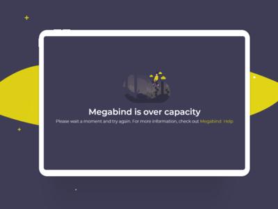 Sample Design for website error message layout