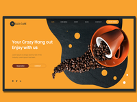 Hello Cafe - cafe   for  website landing page