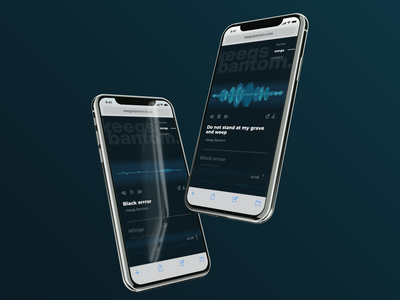 Music producers mobile site