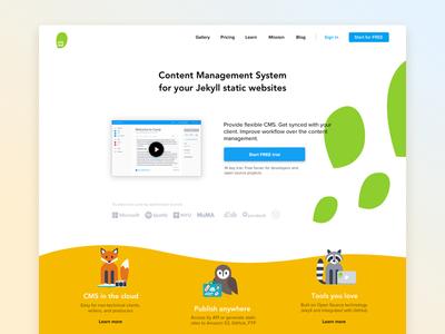 Siteleaf.com redesign