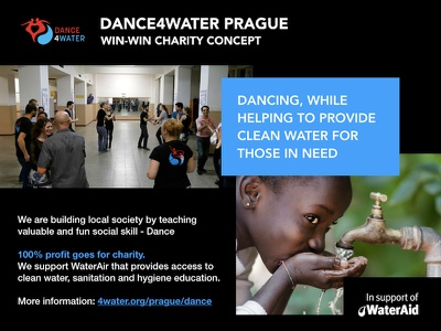 Dance4Water Win-Win award innovative teaching africa nonprofit charity dance win slide presentation probono