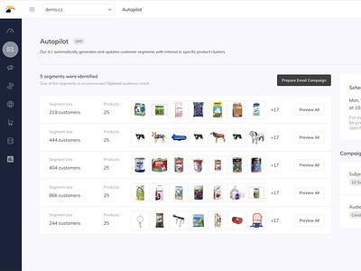 Samba.ai Autopilot feature campaign marketing saas automation machine learning