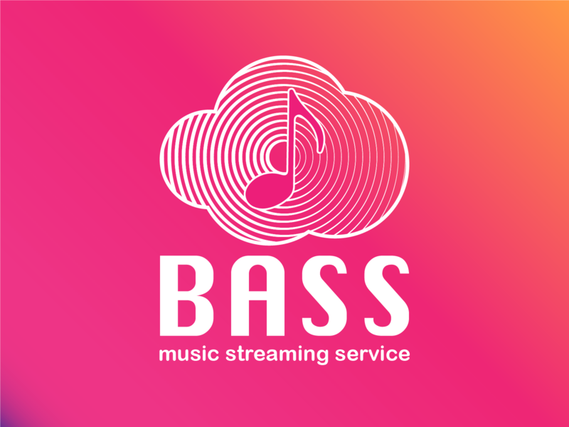 Daily Logo Challenge #09 - Music Streaming Service vector logo app streaming music