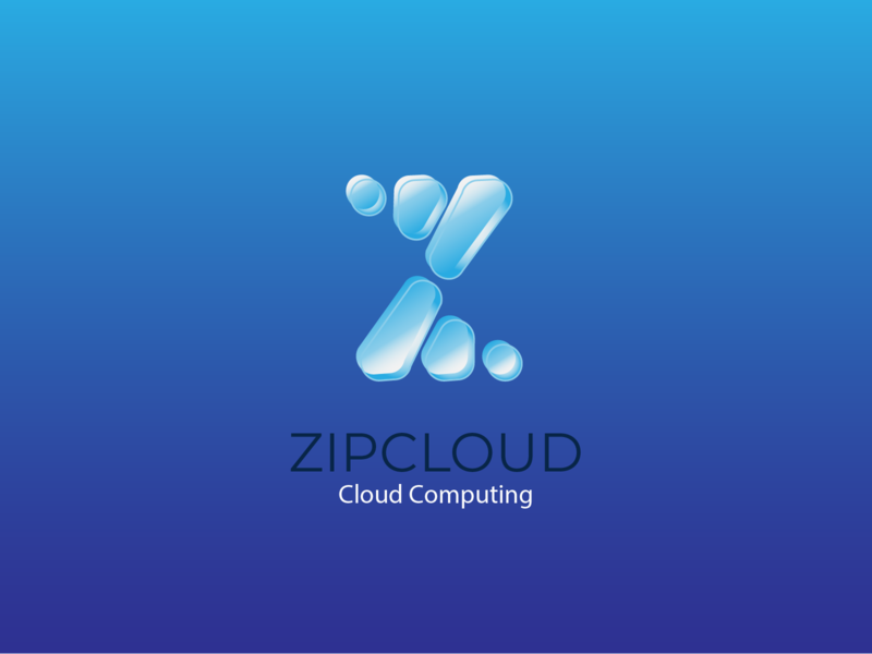 Daily Logo Challenge #14 - Cloud Computing logo vector cloud computing cloud