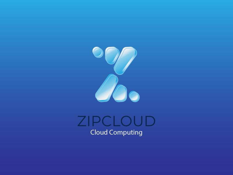 Daily Logo Challenge #14 - Cloud Computing logo vector cloud computing cloud
