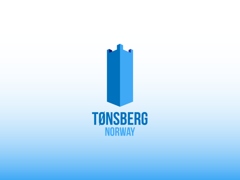 Daily Logo Challenge #22 - City Logo vector logo tønsberg city