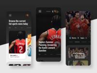 Sports App Desgin