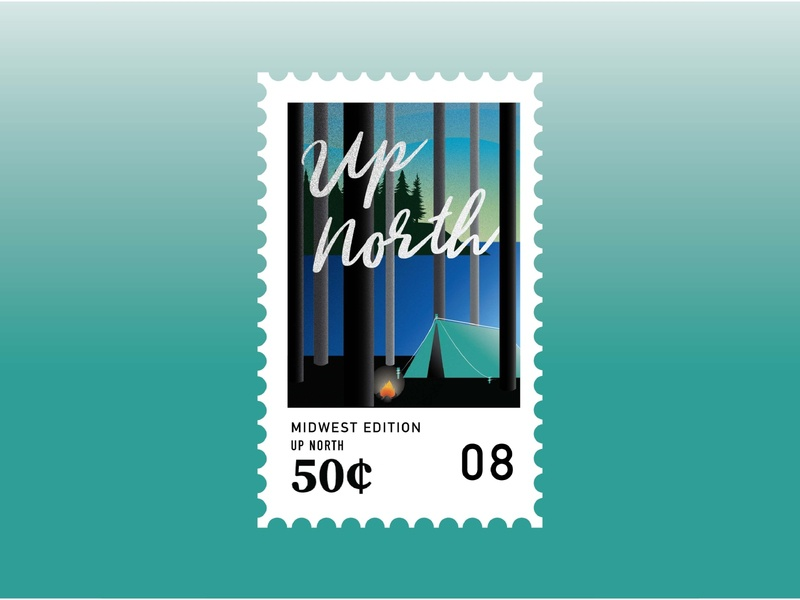 Midwest Stamps: Up North