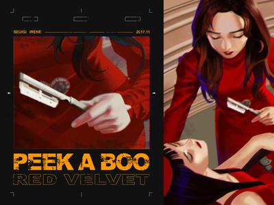DARK RED 系列 - PEEK-A-BOO