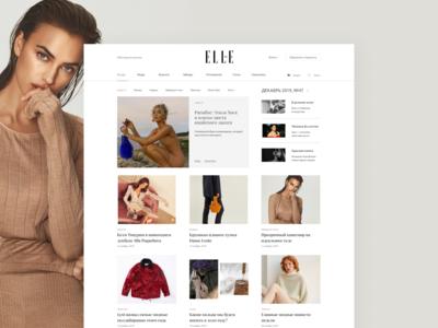 Concept ELLE magazine