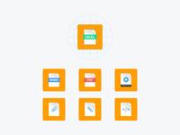 Twine Health Document Icons