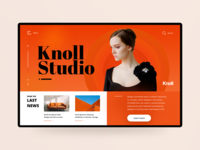 Knoll Studio Header