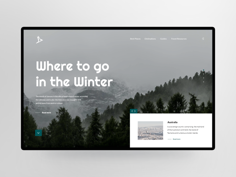 Winter winter is coming banner design header design header image hero header uxdesign uidesign uiux photo nature photoshop white forest winter headers header webdesign ux ui