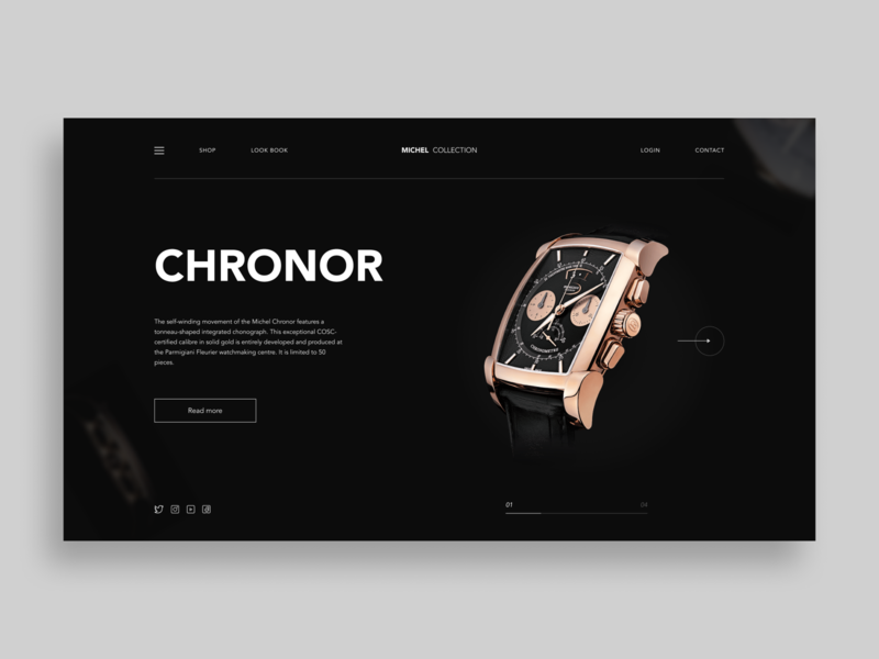 Watches uidesing uxdesign uxui landingpage designer figmadesign figma dark watches headers uidesign header design header webdesign uiux design ui