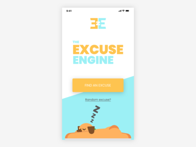 Excuse Engine - fun Le Wagon alumni project