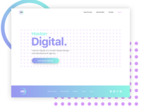 Hoxton Digital - Landing page