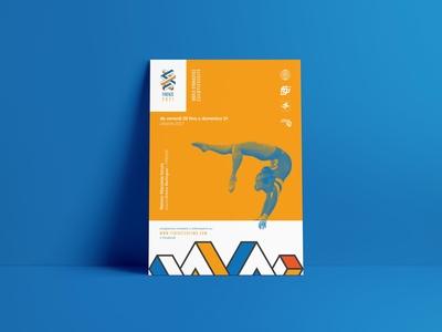 Flyer for World Gymnastics Championships - Firenze 2021