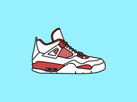"""Air Jordan 4 """"Alternate '89"""""""