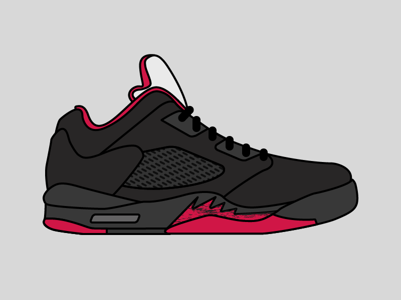 Air Jordan 5 shoe sneaker 5 jordan air