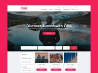 ÖBB Landing Page