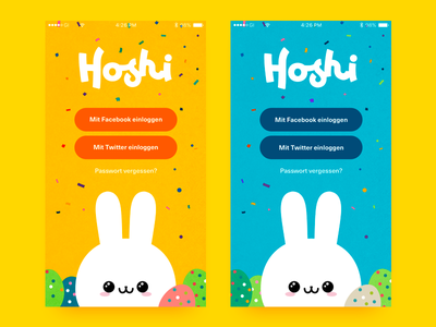 Hoshi Game ux illustration design app pulpmedia hoshi ui game