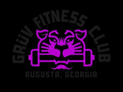Grüv FC fc fitness branding gym logo