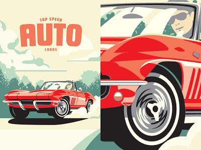 Listerhill Poster Design illustration poster