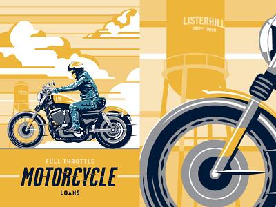 Listerhill Poster Design poster illustration
