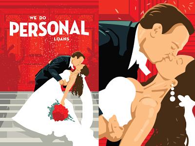 Listerhill Poster Designs illustration poster