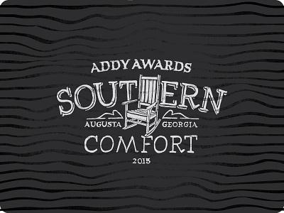 Southern Comfort addy adfed logo event handdrawntype south southern woodgrain