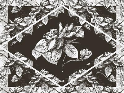 Magnolia Pattern illustration pattern flowers