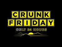 Crunk Friday Hangover Club