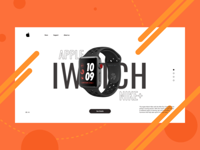 Promo Page Apple Watch Nike+ Concept
