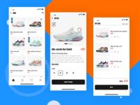 Sneakers Shop App Concept