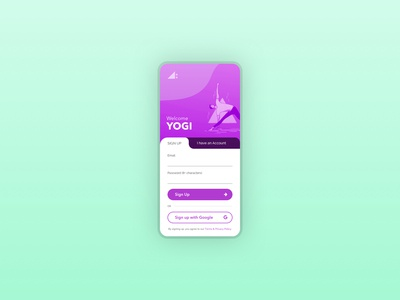 Daily UI Challenge - Day 1