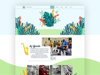 Webdesign project of Surianti Toekidjo