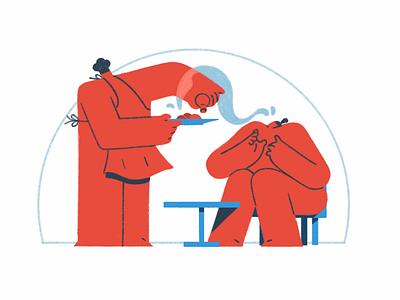 Masterchef cooking cook food masterchef artwork animate 2d art aftereffects adobe illustrator animation character animation art aftereffect illustration design 2d character charactedesign cel animation 2d animation