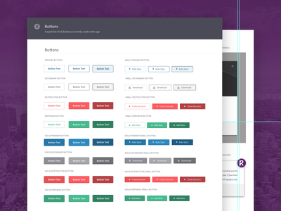 UI Components  input website ui styleguide hover color button
