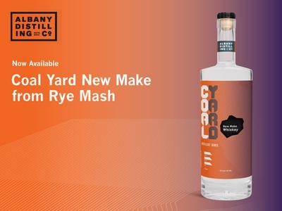 Coal Yard New Make Whiskey