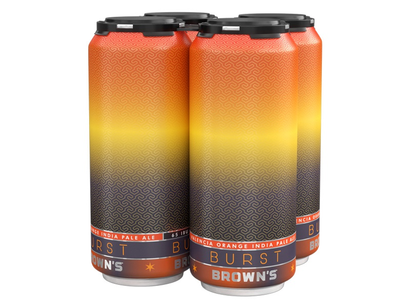 Some new 16 oz  cans for Brown's Brewing by id29 on Dribbble