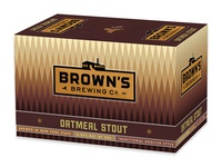 Brown's Oatmeal Stout 6-pack box