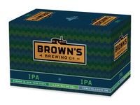Brown's IPA 6-pack box