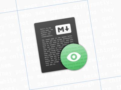Markoff Icon el capitan mac markdown icon osx