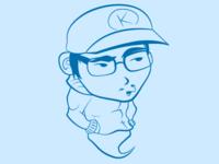 Vectorized Self Portrait