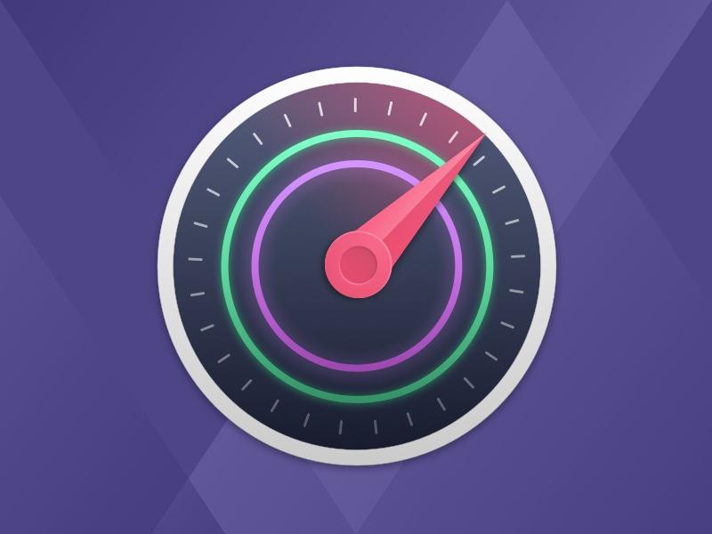 Speedster 3.0 Icon old design gauge speedometer round icon macos osx mac