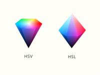 HSL vs HSV
