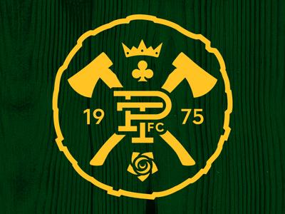 Portland Timbers Alternate Badge